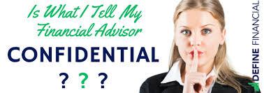 confidential info